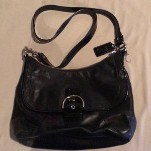EUC large Coach crossbody